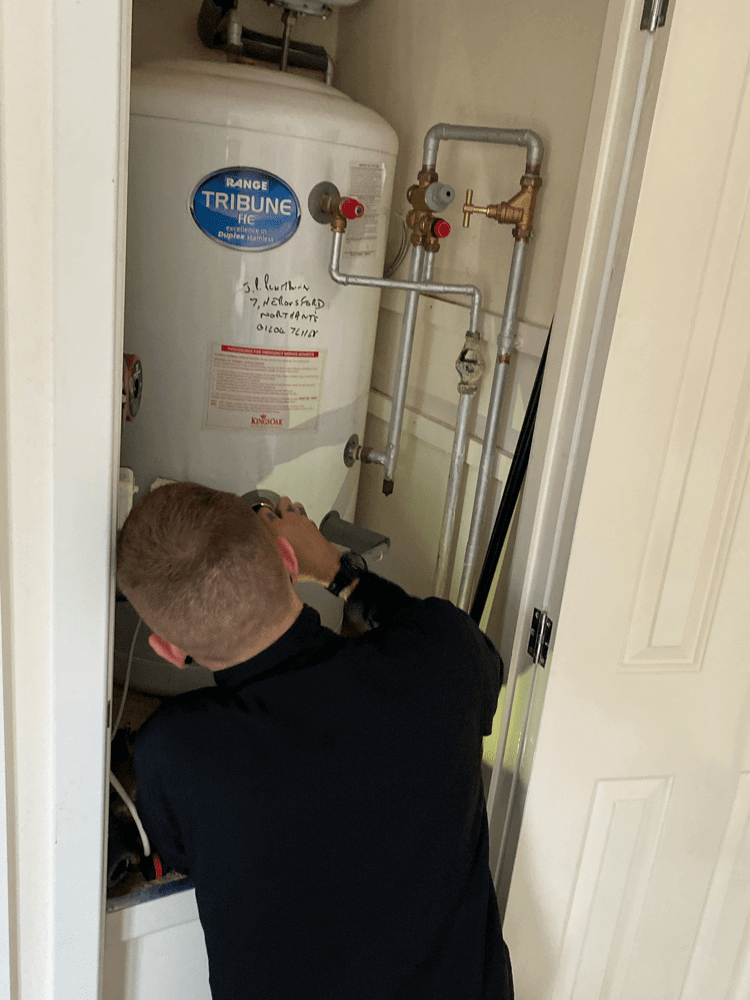 Central Heating System Water Tank Repair
